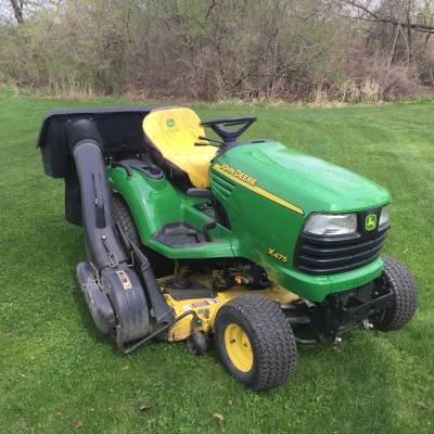 2005 John Deere X475 For Sale Used Tractor Classifieds