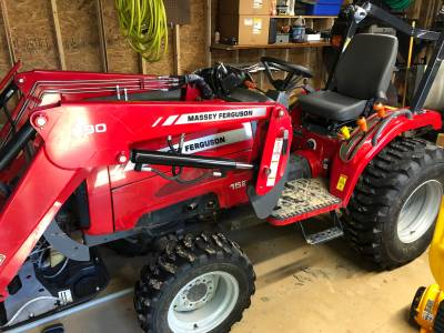 2015 Massey Ferguson 1526 4WD For Sale : Used Tractor