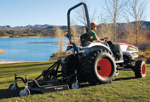 2012 Bobcat CT235 Rear Mower