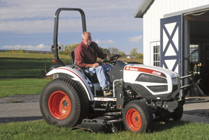 2012 Bobcat CT235 with Mower