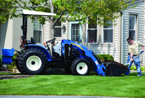 2012 New Holland Boomer 40 Right Side