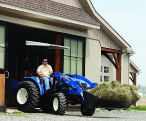 2012 New Holland Boomer 40 Right Front