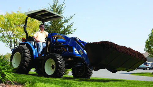 2012 New Holland Boomer 40 Working