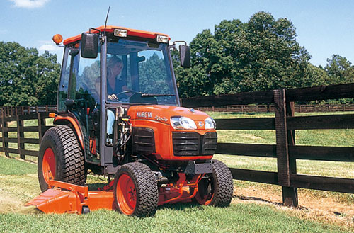 Kubota B3030 with Mower