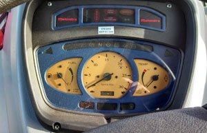 2012 Mahindra 8560 Cab Tractor Gauges