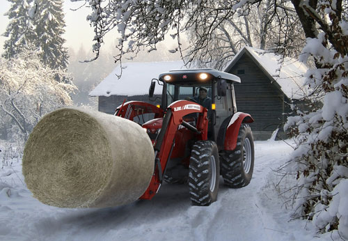 2012 Massey Ferguson HD Series 2660  Snow