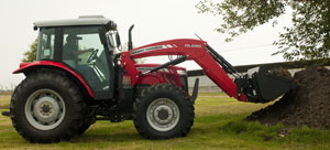 2012 Massey Ferguson HD Series 2660 with Loader
