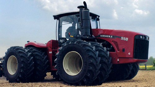 Versatile Tractor at World Ag Expo