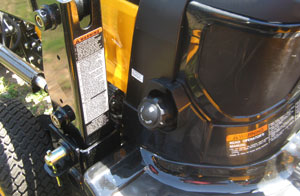 2012 Yanmar Sc2400 Fuel Cap Filler Location