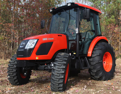 2013 Kioti RX6010PC Cab Tractor Review