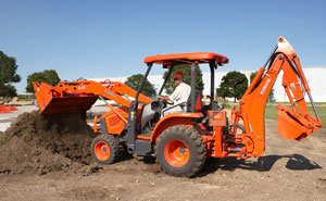 2013 Kubota L45 TLB Right Side