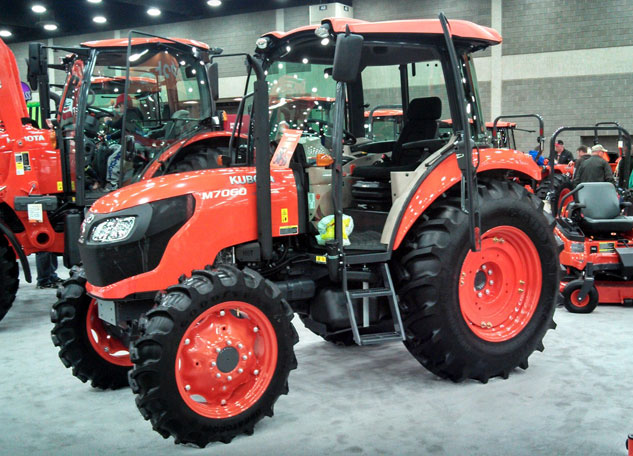 2013 Kubota M7060 Showroom