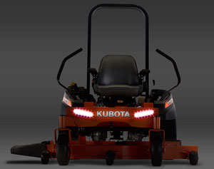 2013 Kubota ZG100 LED Lighting