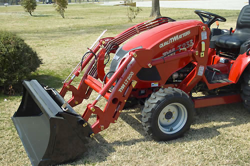 Tym Tractor Review http://www.tractor.com/manufacturers/others/2013-tym-t233-hst-review-1562.html