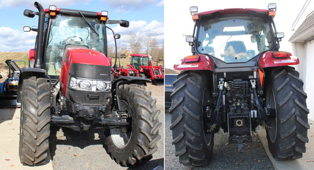 2014 Case IH Maxxum 115 Front and Rear