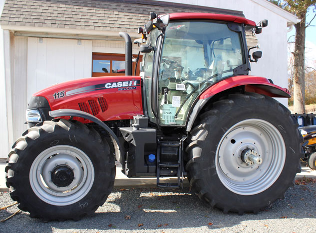 2014 Case IH Maxxum 115 Profile