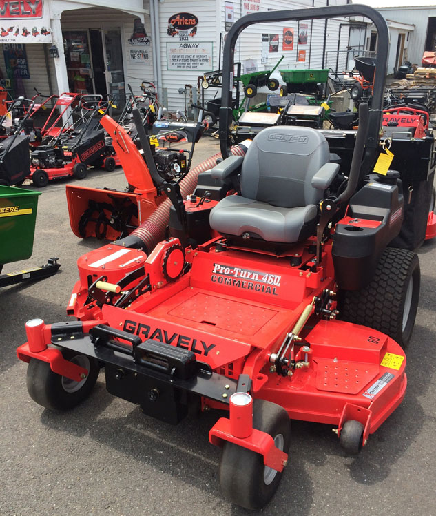 2014 Gravely 460 Pro Turn Review