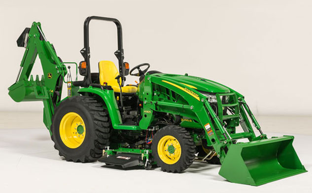 2014 John Deere 3R Series with Loader and Backhoe