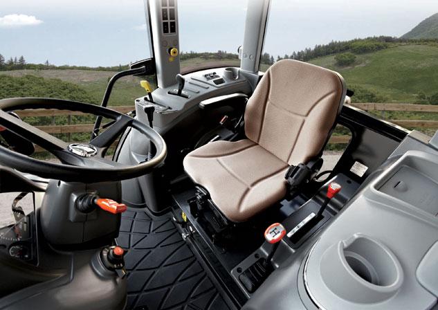 Kioti Tractor Seat : Kioti rx power shuttle cab review