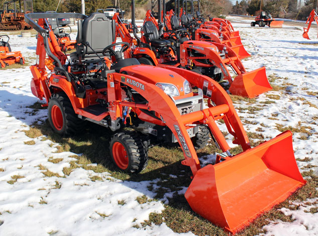 2014 Kubota BX25D TLB Front Right