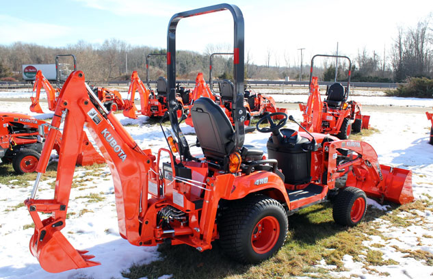2014 Kubota BX25D TLB Right Rear