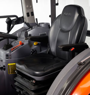 2014 Kubota Grand L6060 Air Ride Seat