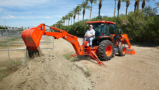 2014 Kubota Grand L6060 Backhoe