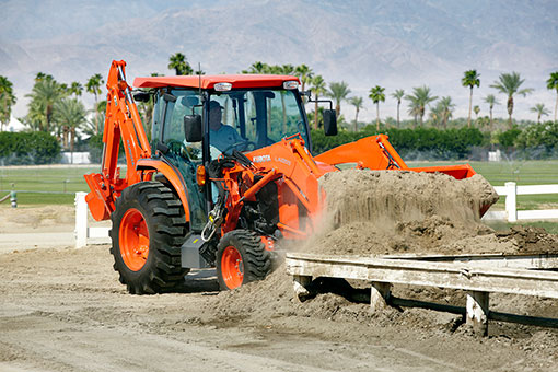 2014 Kubota Grand L6060 Working