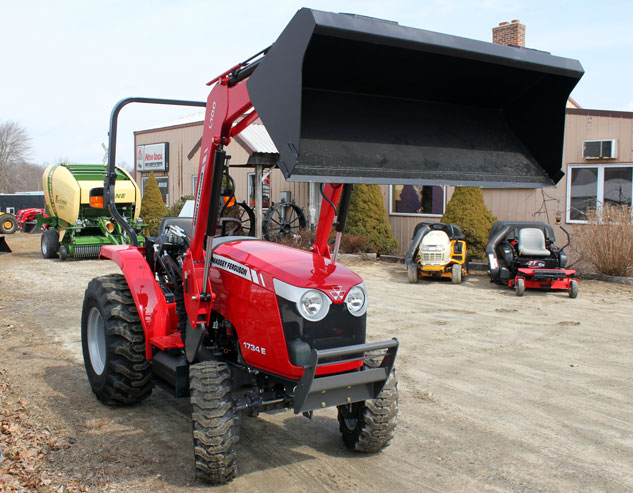 2014 Massey Ferguson 1734E Loader Up