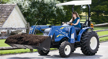 New Holland Workmaster Feature
