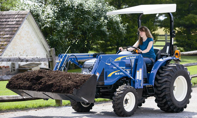 2014 New Holland Workmaster 40 Review