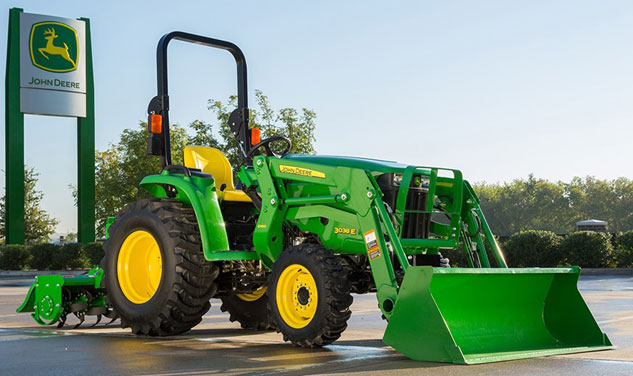 John Deere 3038E Beauty