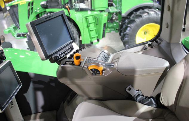 2015 John Deere 9620R Cockpit