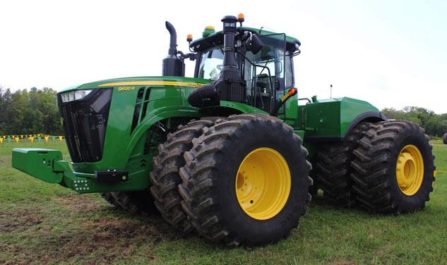 John Deere 9000 Series Tractors : John deere r review