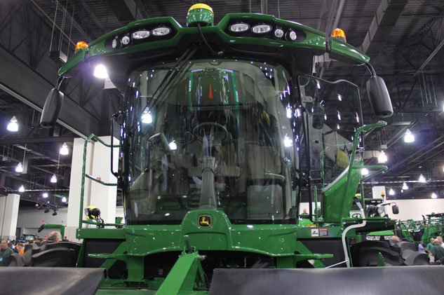 2015 John Deere W260 Windrower Cab