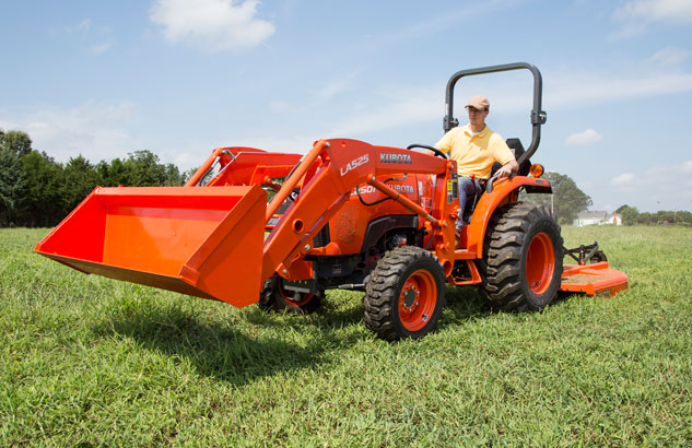 2015 Kubota L2501 HST Review