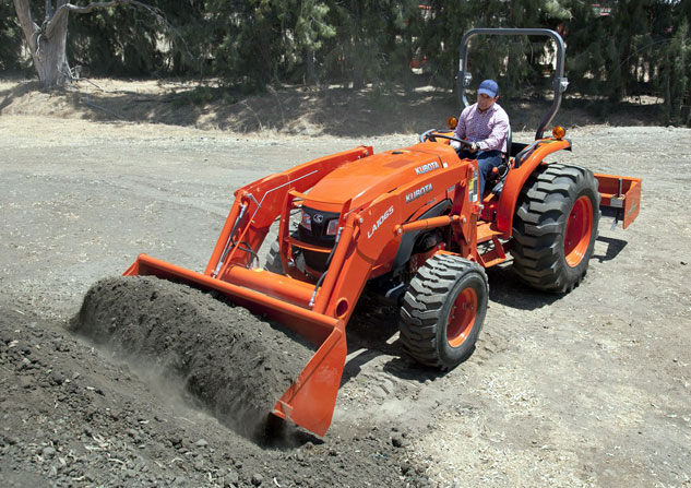 2015 Kubota MX4800 Loader