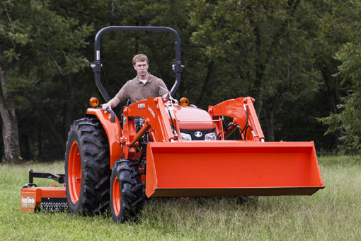 2015 Kubota MX4800 Mowing