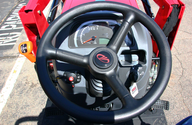 2015 Mahindra 1533 Shuttle Steering Wheel