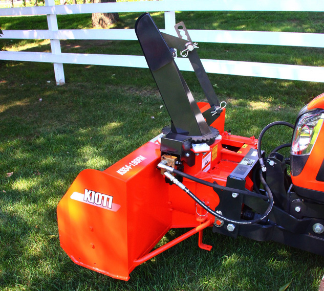 2016 Kioti CK2510 Snowblower