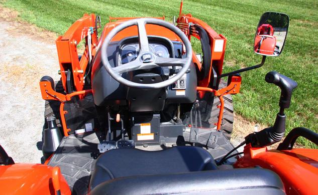 Kioti Tractor Seat : Kioti nx review