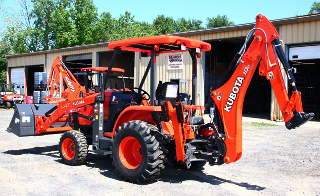 2016 Kubota L45 TLB Left Rear