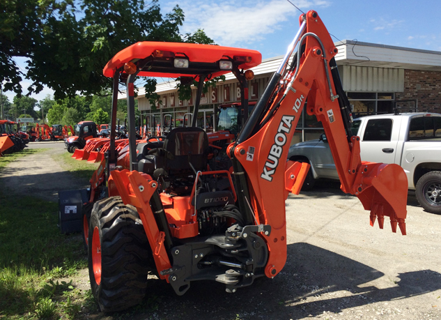2016 Kubota L45 TLB Rear