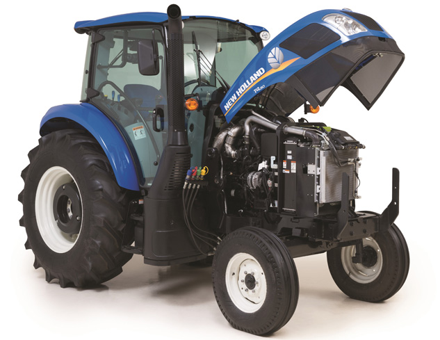 2016 New Holland T4.90 Hood Up
