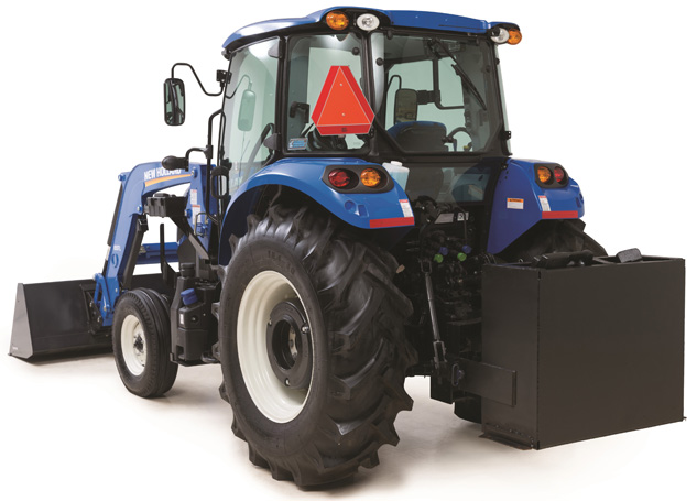 2016 New Holland T4.90 Rear