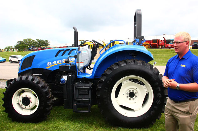 2016 New Holland TS6.120 Profile