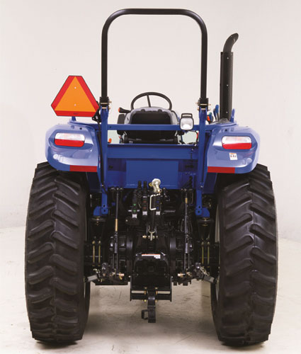 2016 New Holland TS6.120 Rear