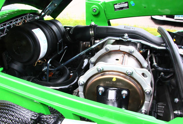 2017 John Deere 2038R Engine
