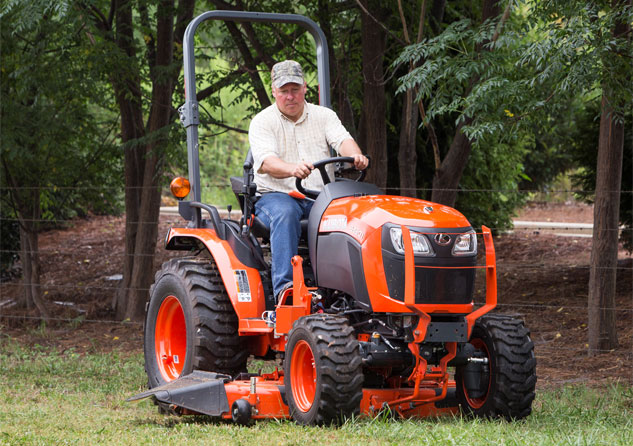 2017 Kubota B2601 HST Review