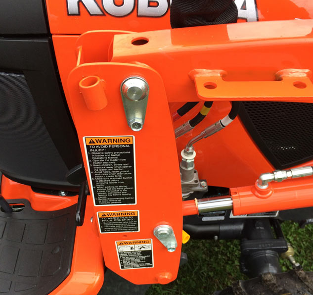 2017 Kubota BX23S Grease Caps